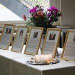 les-cadres-des-5 victimes représentant toutes les victimes du terrorisme