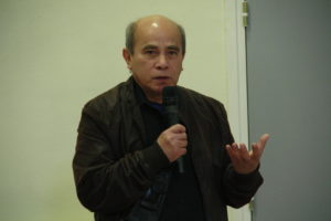 Daovy PATHOUMMALUNAGSY, Président de l'Association Bouddhistes lao du Nord de la France