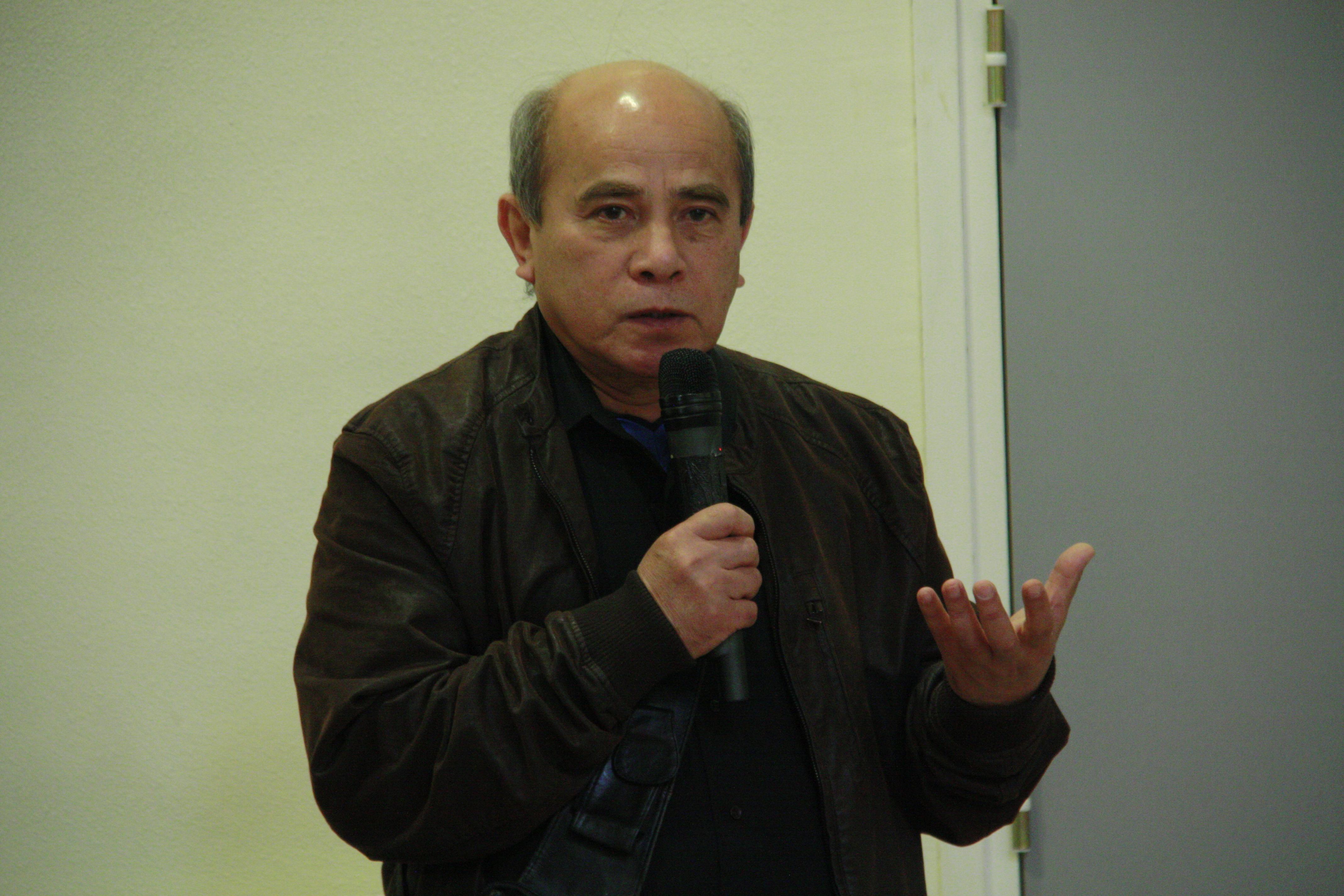 Daovy PATHOUMMALUNAGSY, Président de l'Association Bouddhistes lao du Nord de la France