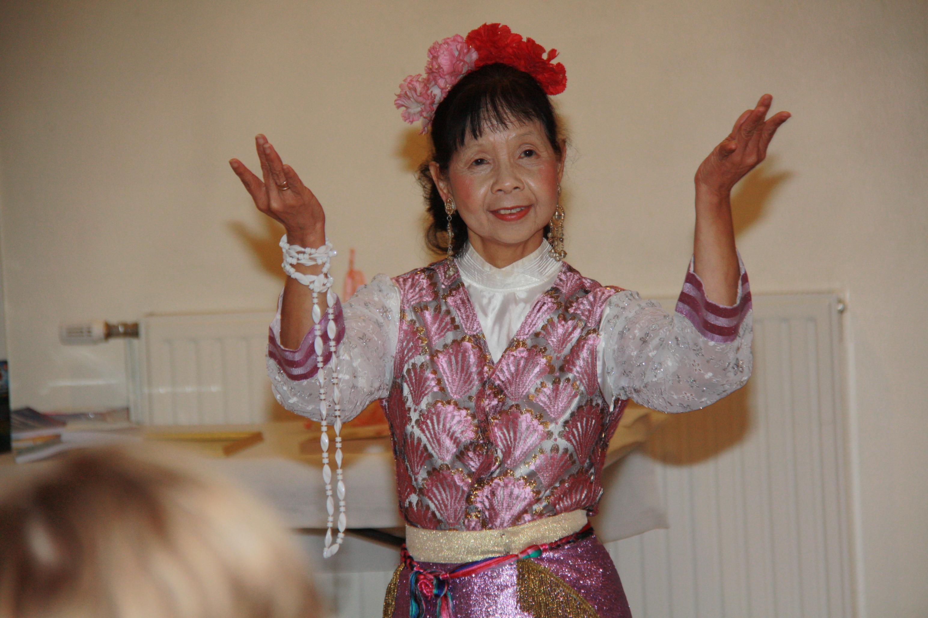 Madame Maicuc Moine, danseuse professionnelle